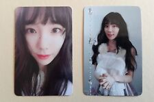 SNSD Girls' Generation Taeyeon Christmas X-mas Album Official  PhotoCard (2 pcs)