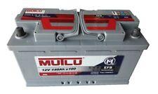 Solarbatterie 12V 140Ah c100 Wohnmobil Camping Versorgung Boot Reha Batterie