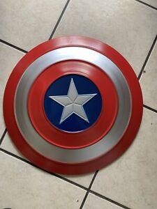 Avengers Captain America Battle Damage Shield 48cm Metal War Shield Prop Gifts