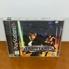 Star Wars: Masters of Teras Kasi (PS1, PSX) RARE. Brand New Sealed. Mint