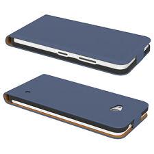 Tasche für Nokia / Microsoft Lumia 535 Flip Case Schutz hülle Cover DUNKELBLAU