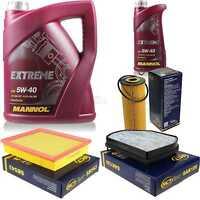 Ölwechsel Set 6L MANNOL Extreme 5W-40 Motoröl + SCT Filter KIT 10194177