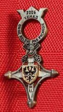insigne militaire réduction infanterie Opex 1er RI tchad rare