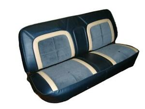 Ford F-Series Std Cab Deluxe Lariat Seat Upholstery for Front Bench 1973-1979