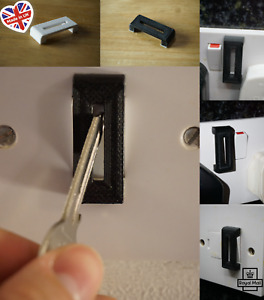 4 x Switch Guard, Switch Cover Protector Lock, Stops Switches being turned off