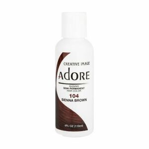 Creative Image Adore Shining Semi-Permanent Hair Color 104 Sienna Brown 118ml