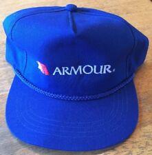 Nwot Blue Armour Meat Company Snapback Cap/Hat