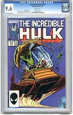 Incredible Hulk  #331  CGC  9.6  NM+  White pages   5/87  Geiger/Sanders cover
