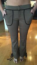 ARDEN B Women's Brown Tweed Pants Size 4 NEW