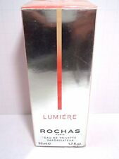 ROCHAS LUMIERE Eau De Toilette Spray FOR WOMEN 1.7 Oz / 50 ml NEW IN BOX SEALED!