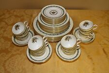 Delicate Wedgwood Appledore Bone China 5 Piece Settings Service for 8 (c.1973)
