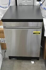"""Ge Gpt225Sslss 24"""" Stainless Fully Integrated Portable Dishwasher Nob #110985"""