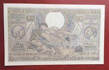 Belgique -  Magnifique  Billet de 100 Francs/20 Belgas 19-03-1943 (2)