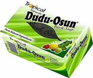 African Black Soap Dudu Osun For Eczema, Acne, Fungus Dermatitis Dark Spot 150G