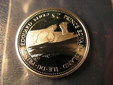 Canada 1992 PEI Join Confederation Gem Silver 25 Cent Coin.