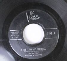 Pop 45 Annete With The Afterbeats - First Name Initial / My Heart Became Of Age