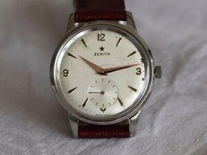 Zenith Cal. 40 Star / Stellina Vintage Armbanduhr Watch 37 mm