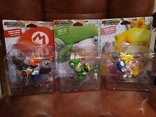Mario + Rabbids Kingdom Battle Figures Mario, Luigi & Peach UBI Collectibles NEW