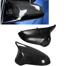 CARBON FIBER MIRROR COVER Cap FOR BMW F80 M3 F82 M4 2015-18 MO