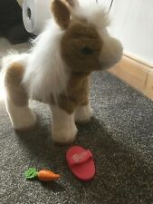 FURREAL FRIENDS BABY BUTTERSCOTCH ELECTRONIC INTERACTIVE PONY HORSE