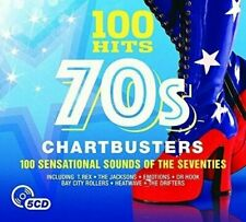 100 Hits: 70s Chartbusters  (5 CD)  NEW SEALED