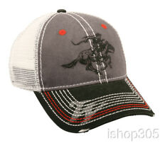 Winchester Hunting Hat Grey/White Mesh Back Cap Trucker Hat Baseball Cap firearm
