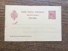 Spain 10c Postal Stationery Postcard #2770