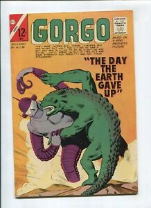 GORGO #18 (6.5) *THE FISHERMAN COLLECTION* DAY EARTH GAVE UP 1964