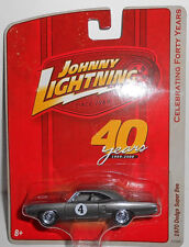 Johnny Lightning Celebrating 40 Years 1970 DODGE SUPER BEE (Gray)