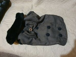 "elegant dog coat  ""doggydolly"""
