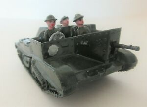 BRITAINS LTD Carden Lloyd Type Bren Gun Carrier with Driver & Gunner & Guard (2)