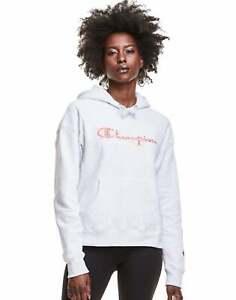 Champion Reverse Weave Hoodie Sweatshirt Logo Vines Women's Pockets Exclusive