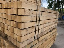 Landscaping grade Canadian oak posts 2.4m x 100 x 100 (8ft x 4 x 4in)
