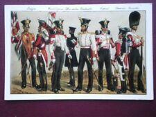 POSTCARD THE KINGS SHROPSHIRE LIGHT INFANTRY 53RD REGIMENT OF 1842