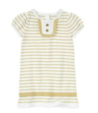 NWT Gymboree The green Scene Gold Sweater Dress Holidays Party 2T