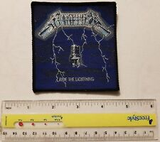Metallica - ride the lightning- VINTAGE patch - Free Shipping !!!