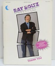 Ray Boltz Thank You Songbook Volume One [Paperback] Ray Boltz Free Shipping