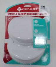 First Alert Smoke & Carbon Monoxide Alarm - 2 Pack  Cat. 1044087