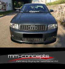 CUP Spoilerlippe für Audi A4 B6 S-Line Frontspoiler Spoilerschwert Lippe V2