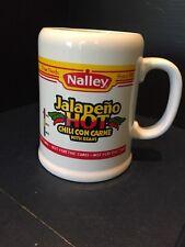 B30) Vintage Nalley Fine Foods Hot Jalapeño Chili Con Carne W/Beans Mug / Cup