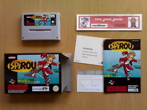 Oferta ★ SPIROU Super Nintendo SNES Super NES PAL ☆☆ GRAN ESTADO Muy Raro