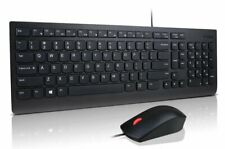Lenovo Essential USB Wired Keyboard and Mouse Combo - UK Keyboard Layout