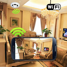Mini HD DVR Wireless SPY Hidden Camera Smoke Detector Motion Detection Video Cam