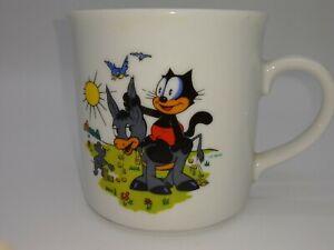VINTAGE Winterling Roslau BAVARIA Germany Porcelain small Cup /Mug FELIX Donkey