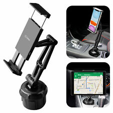 Cellet Tablet/Smartphone Cup Holder Mount, Automobile Cup Holder Mount
