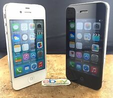 Apple iPhone 4S - 8GB 16GB 32GB 64GB (Black White) Unlocked AT&T T-Mobile Sprint