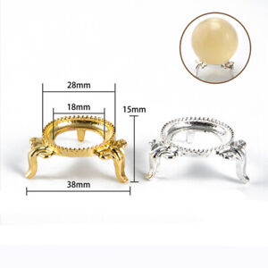 Metal Display Stand/Holder For Crystal Ball/Sphere/Eggs/Stones/MineralsB_yk