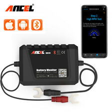 Ancel Automotive Car Battery Tester 12V Bluetooth Analyzer Tool for Android IOS