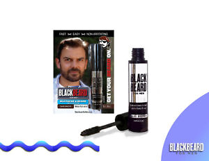Blackbeard for Men Formula X Instant Brush-On Beard Color,  1-pk