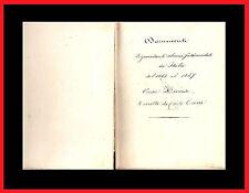 "CIONI:  "" Documenti  inediti ""   ( Leopardi Manzoni Massoneria Poesia Firenze )"